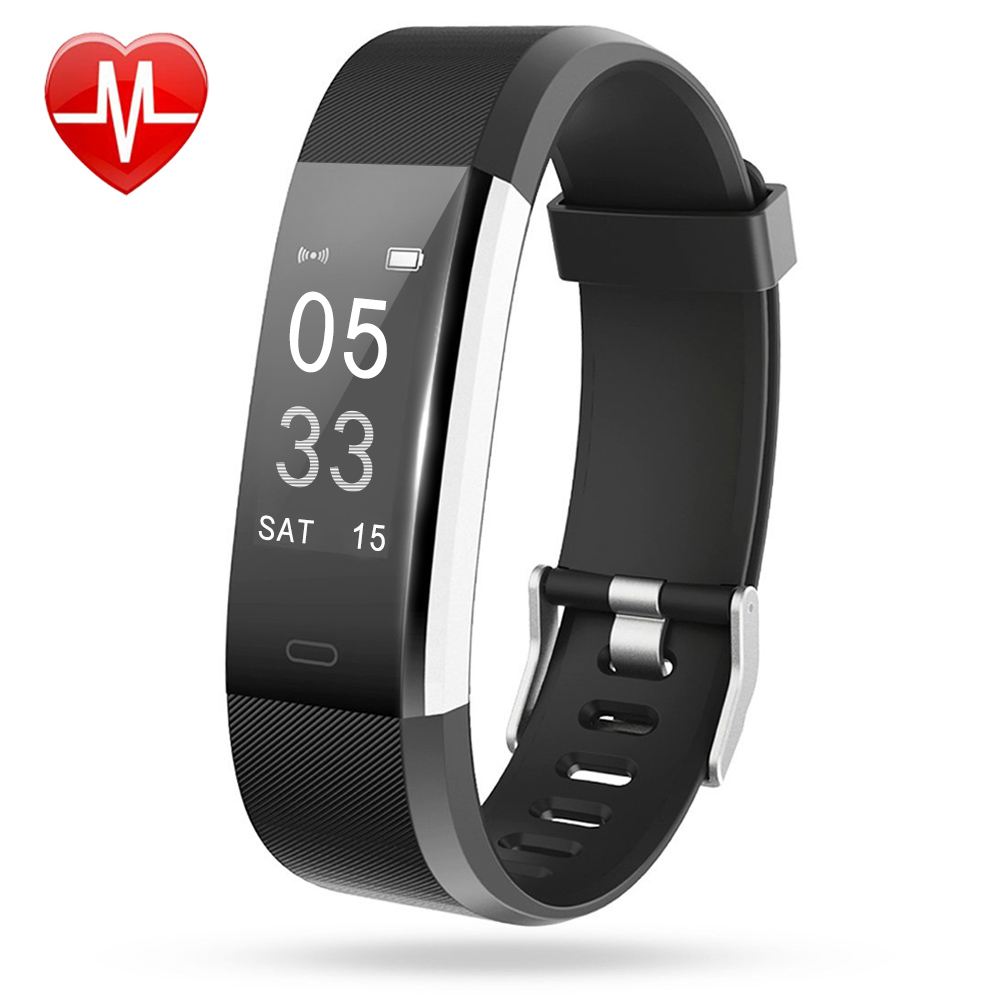 Lintelek Fitness Tracker ID115Plus HR
