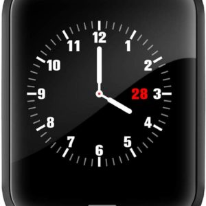 Lintelek H19 Smartwatch Stainless Steel Black