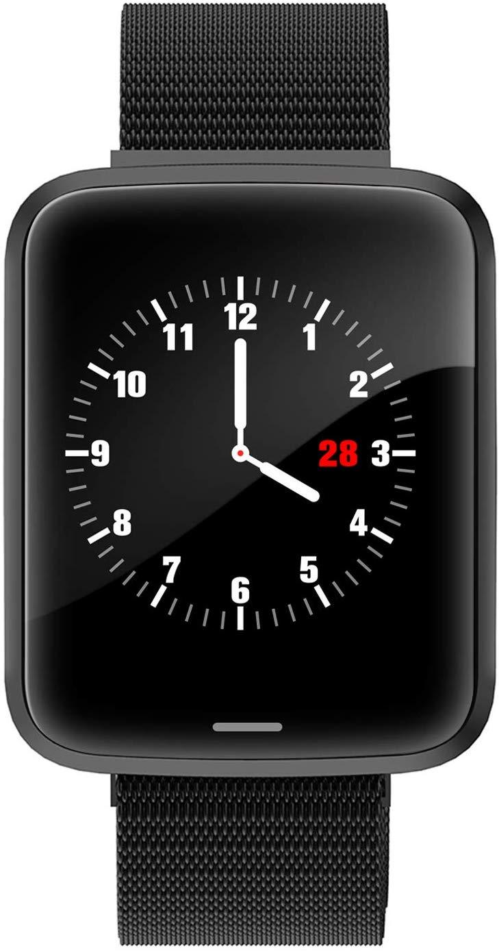 Lintelek H19 Smartwatch Stainless Steel Black
