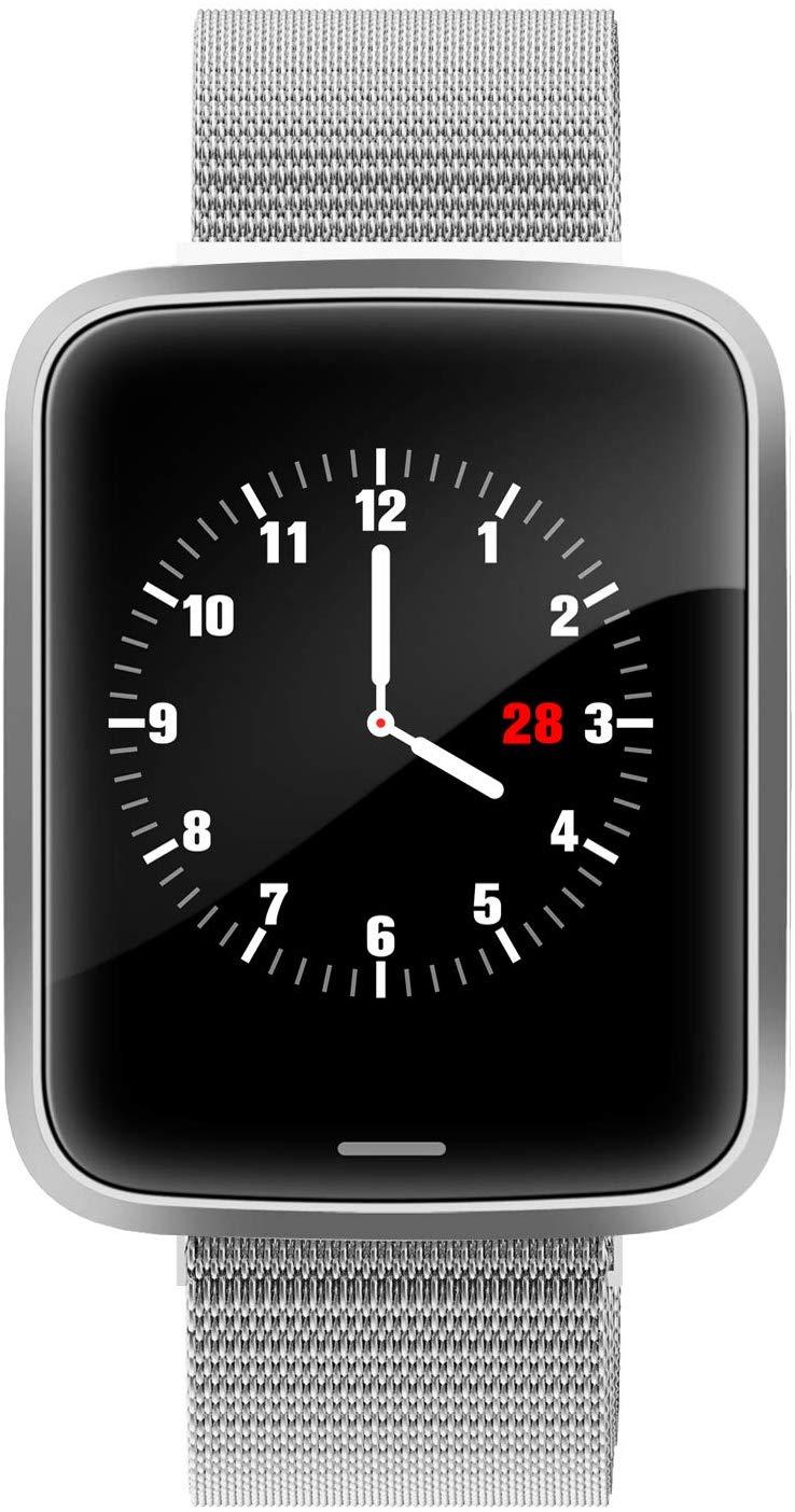 Lintelek H19 Smartwatch Stainless Steel Silver